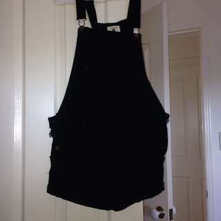 Cotton On black Overalls