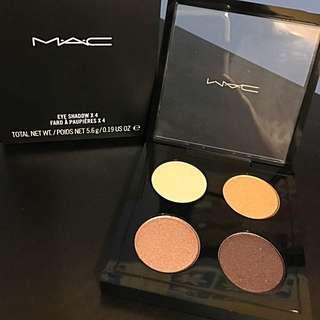 Mac Eyeshadow x4 Devilishly Dark