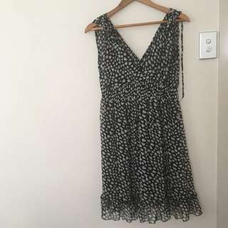 Mombasa Black And White Dress Sz S