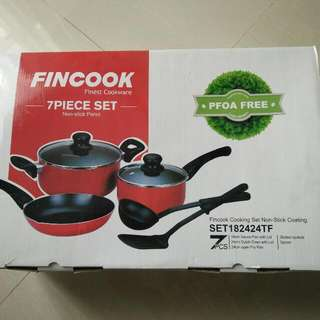 FINCOOK Finest Cookware 7 pieces Set