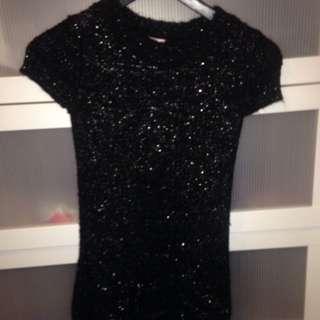 Short Wool-like Dress