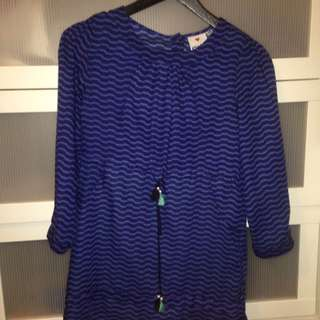 Gorgeous Blue Dress (or long shirt)