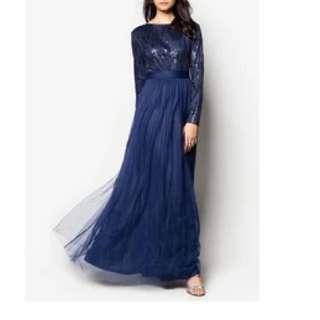 Zalia Sequin Flare Dress (Prom Dress)
