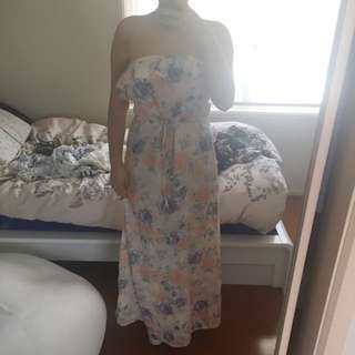 Bardot Maxi Dress. Size 10?