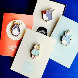 Totoro Pins #1 (LIMITED EDITION)