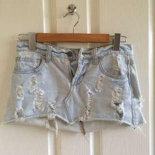 Tigerlily Denim Skirt
