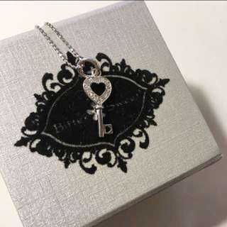 Bittersweet Heart Key Necklace