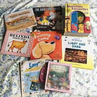 Bundle Of Pre-loved Children's Books