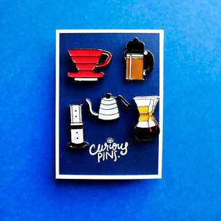 Ultimate Coffee Lovers Pins
