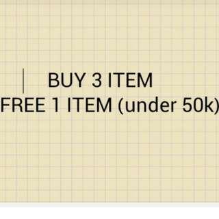 Buy 3 Get 4