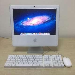 Refurbished Apple iMac C2D (A1208) 17inch Wide Screen