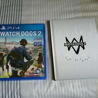 PS4 Watch DOGS 2 + ARTBOOK