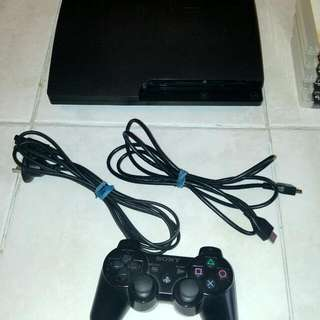PlayStation 3 (PS3) Slim + 8 Games. Awesome Christmas Gift!