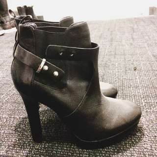 Zara High Heel Ankle Boots