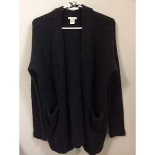H&M Dark Grey/Black Cardigan