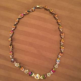 Multicolour Jewel Necklace