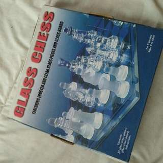 GLASS CHESS COMPLETE SER