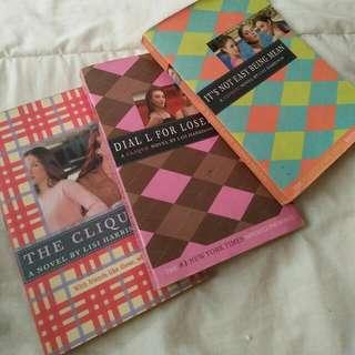BOOK SALE!! -CLIQUE SERIES