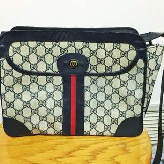 Authentic Gucci Classic Satchel Bag
