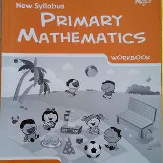 P2 Math Workbook And Test Workbook