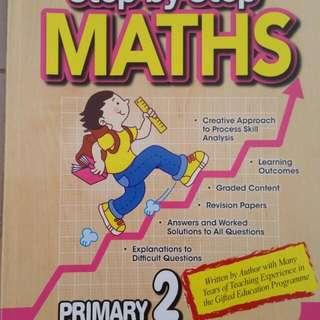 P2 Math And EL Oral Assessmemt Books
