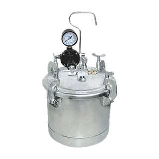 10L Paint tank w/ Pressure guage & adjusting valve