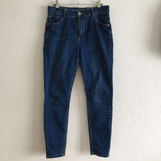 COTTON ON Skinny High Rise Jeans 7/8 Length