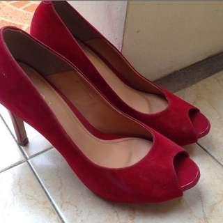 SALE! Heels// Red Heels// Red Shoes