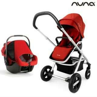 荷蘭 Nuna IVVI 豪華型推車夢幻車款+PIPA 提籃