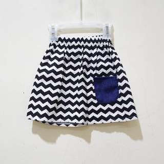 Monochrome Skirt
