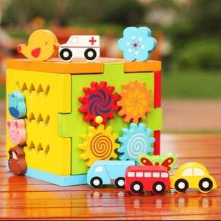 🚚 嬰幼兒多功能益智盒