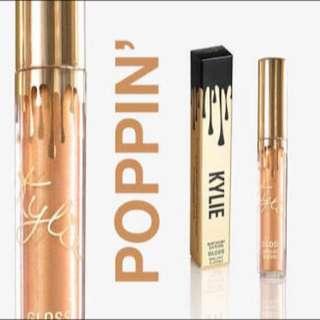 Kylie Cosmetics Poppin Gloss Birthday Edition