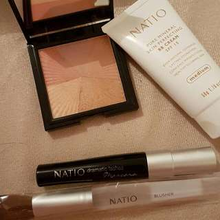 Natio Sunscreen, Bronzer And Mascara