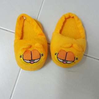 Toddler Fussy Garfield Slippers