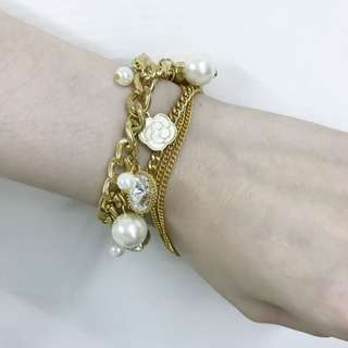 韓國帶回 小香風珍珠手鍊/項鍊