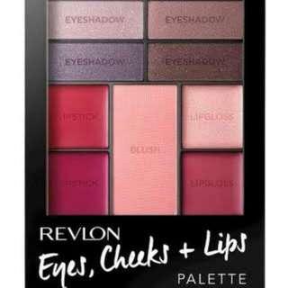REVLON EYES CHEEKS LIPS IN BERRY IN LOVE brand New.