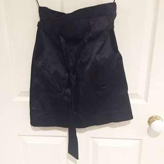 Lemon Tea Back Tie Skirt