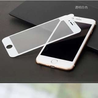 Screen protector with soft edge (3D tempered glass)