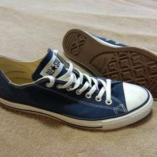 Converse All Stars, Dark Blue - Size 10