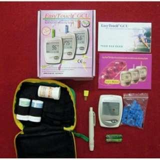 PROMO...Alat Cek Darah Easy Touch GCU (Gula,urin Acid,Cholesterol)