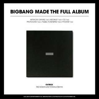 BIGBANG-MADE [Full Album]