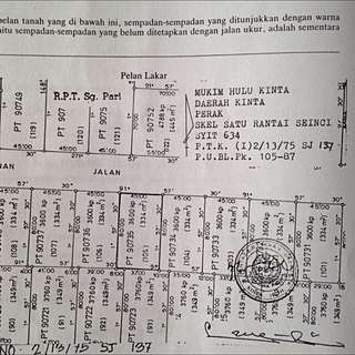 Banglo Lot @ RPT Sg Pari Ipoh Perak