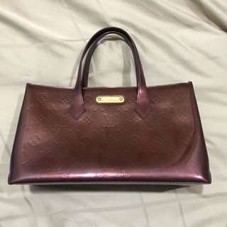 LV Leather bag (Authentic)