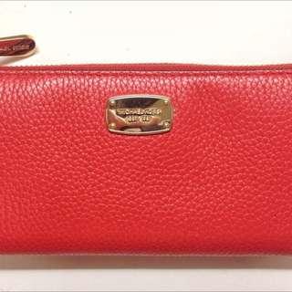 MK Michael Kors Soft Leather Wallet