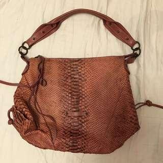 Preloved Full Leather Bag