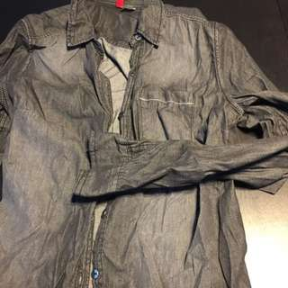 RESERVED H&M Long Sleeved Shirt