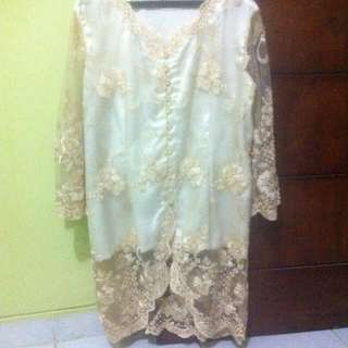 SUPERSALE! Kebaya Putih Gading Big Size