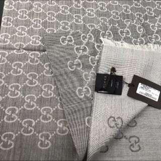 Gucci 羊毛圍巾