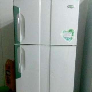 ☆便宜賣☆東元小鮮綠雙門冰箱