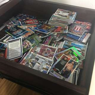 Bunch of Match/Slam Attax and random cards